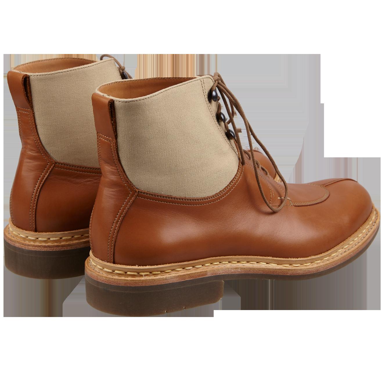 Heschung Ginkgo Boots Gold Back
