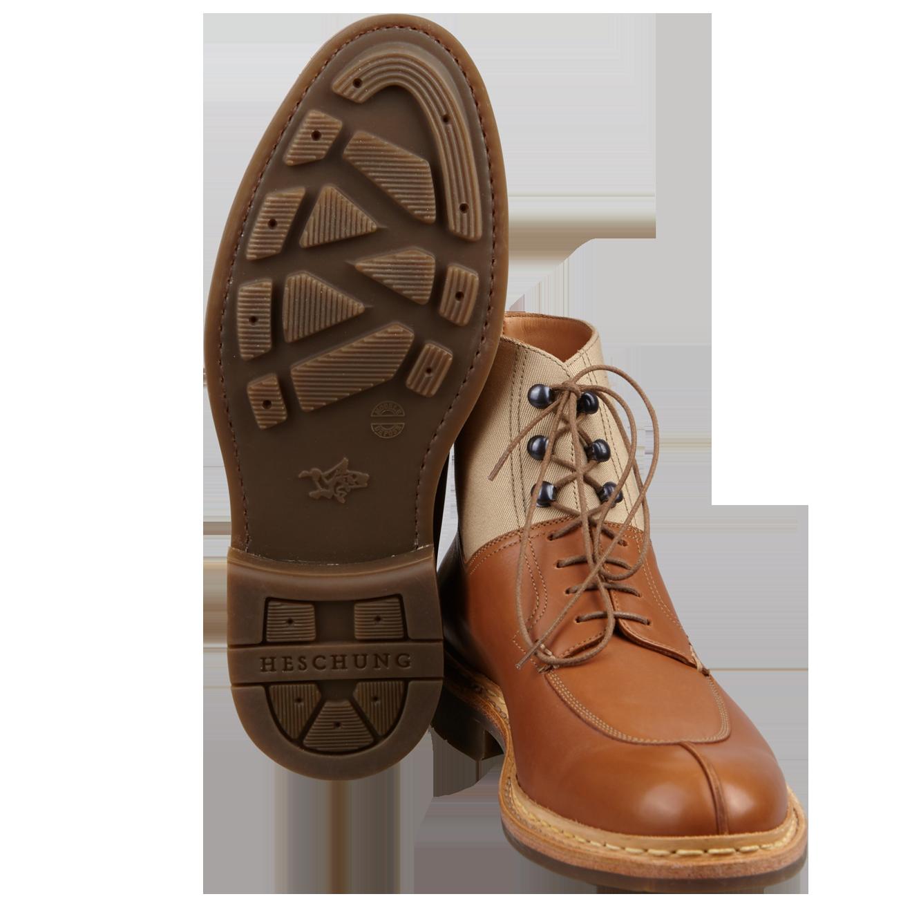 Heschung Ginkgo Boots Gold Bottom