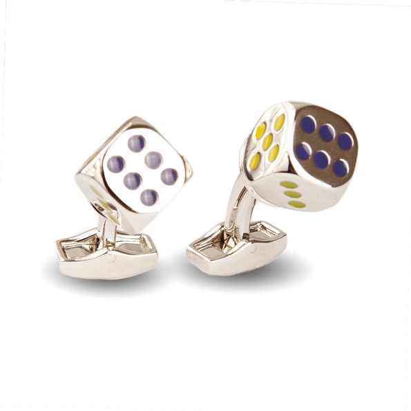 Dice Themed Cufflinks