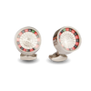 Casino Themed Roulette Cufflinks