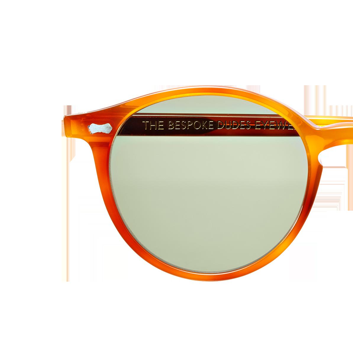 The Bespoke-Dudes Cran Classic Tortoise Sunglasses Singel
