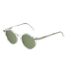 The Bespoke Dudes Cran Transparent With Bottle Green Lenses