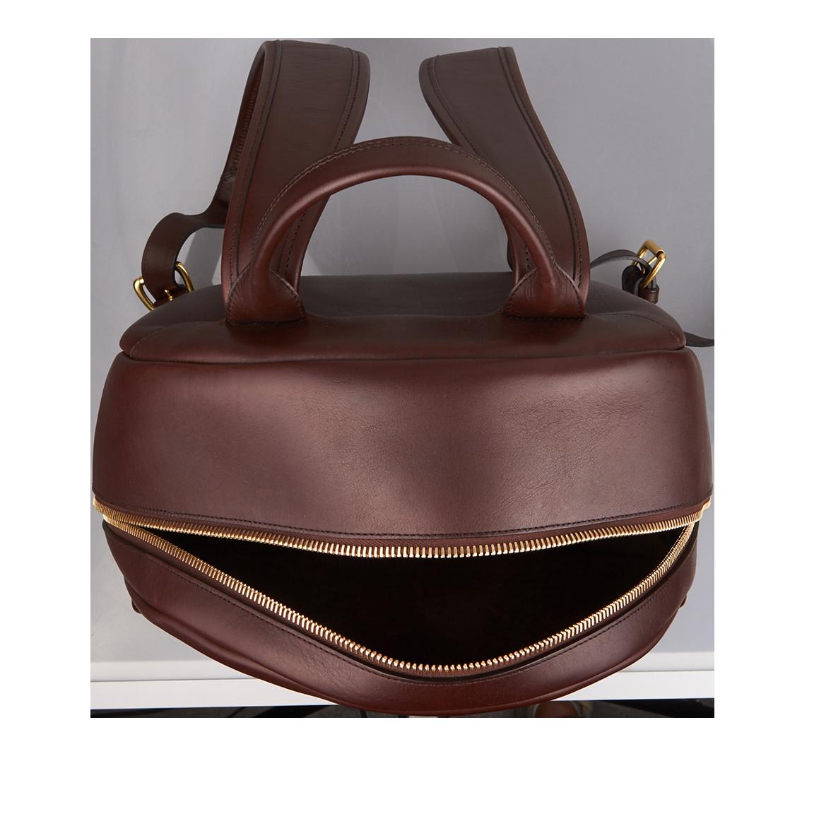 4591c2cde72d frank clegg chocolate hampton zipper backpack top
