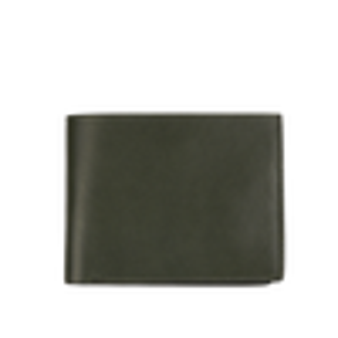 Frank Clegg Green Bifold Leather Wallet Outside
