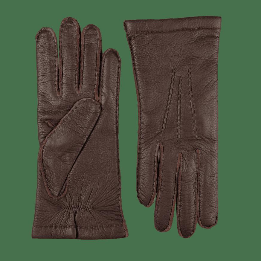 Hestra Espresso Cashmere Lined Elk Gloves