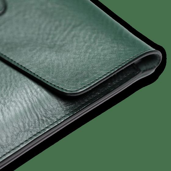 frank clegg green ipad case detail
