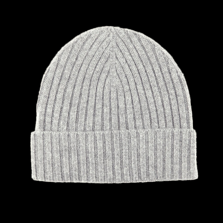 Amanda Christensen Light Grey Cashmere Cap
