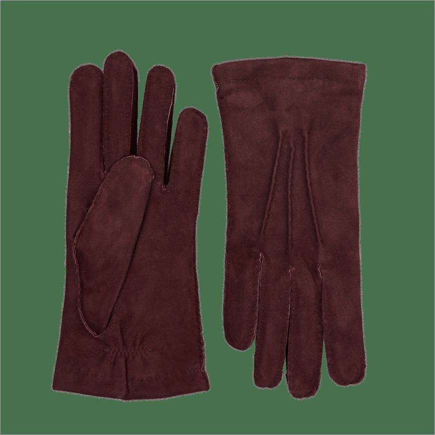 Bordeux Cashmere Lined Gloves