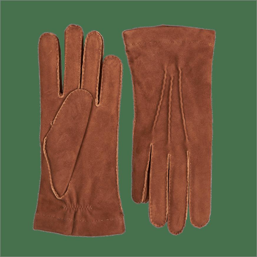 Light Brown Cashmere Lined Gloves