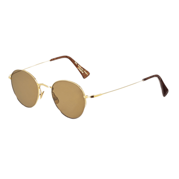The Bespoke Dudes Vicuna Gold With Tobacco Lenses