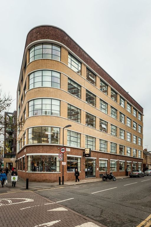 Drake's Factory and Headquarter on Haberdasher Street in London