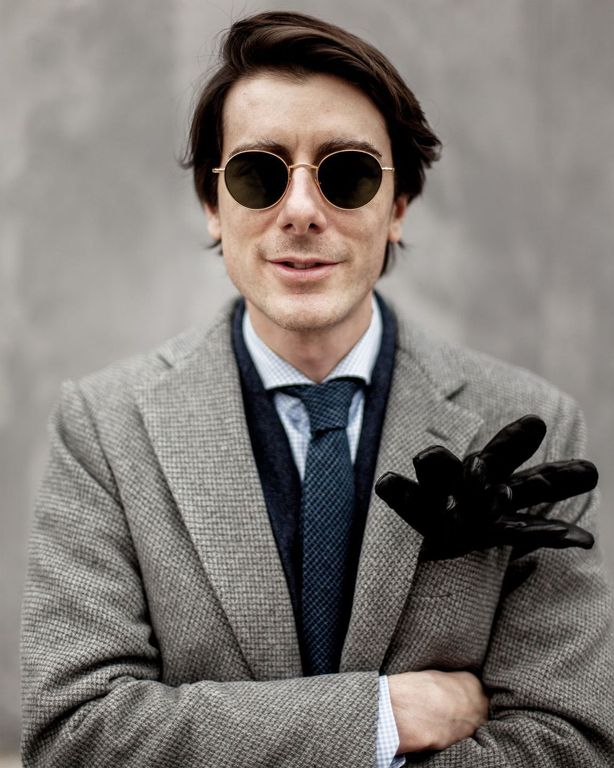 Andrea Viganó Founder of The Bespoke Dude's Eyewear