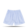 Light Blue Micro Gingam Boxer Short