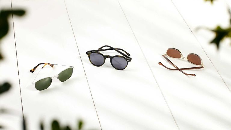 Sunglasses Models from The Bespoke Dudes - Mohair, Lapel and Cran