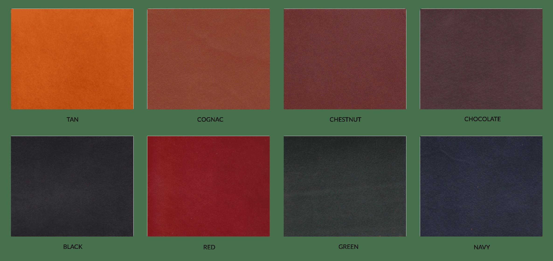 Frank Clegg Colors Harness Belting Leather