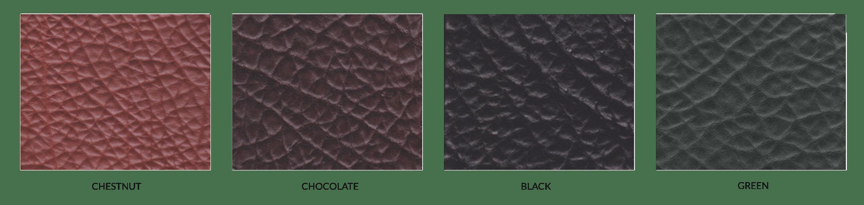 Frank Clegg Colors Schrunken Grain Leather