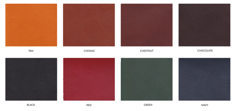 Frank Clegg Colors Smoth Tumbled Leather