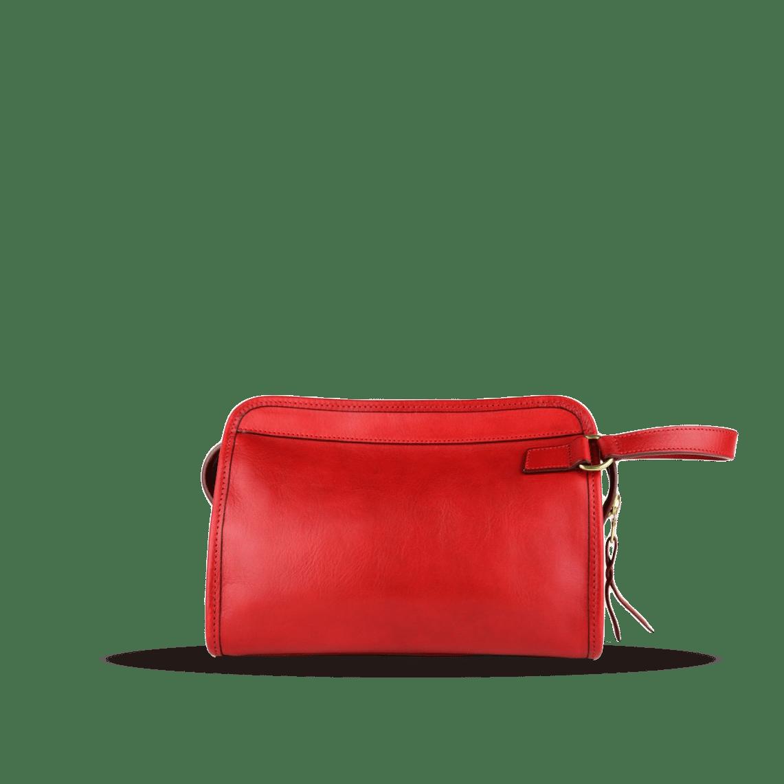 Frank Clegg Red Large Travel Kit