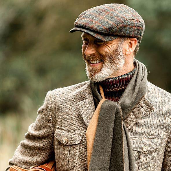 Wigéns Harris Tweed Caps at Baltzar.com