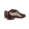 Brown Calf Rain Captoe Oxford Shoes