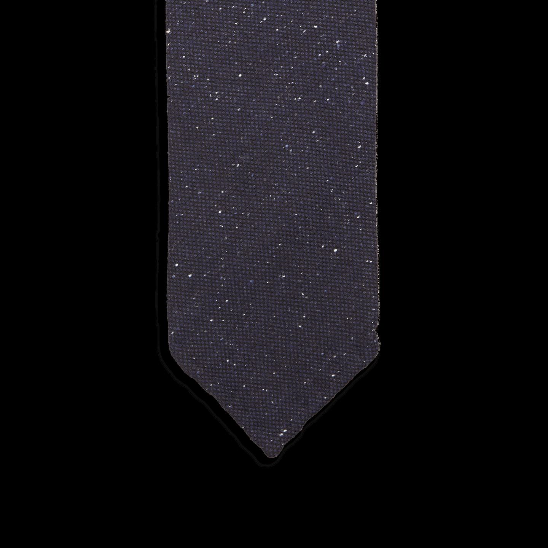 cbed9e25b114 Drake's - Navy Donegal Wool Tie | Baltzar