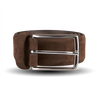 Tobacco Brown Suede Belt