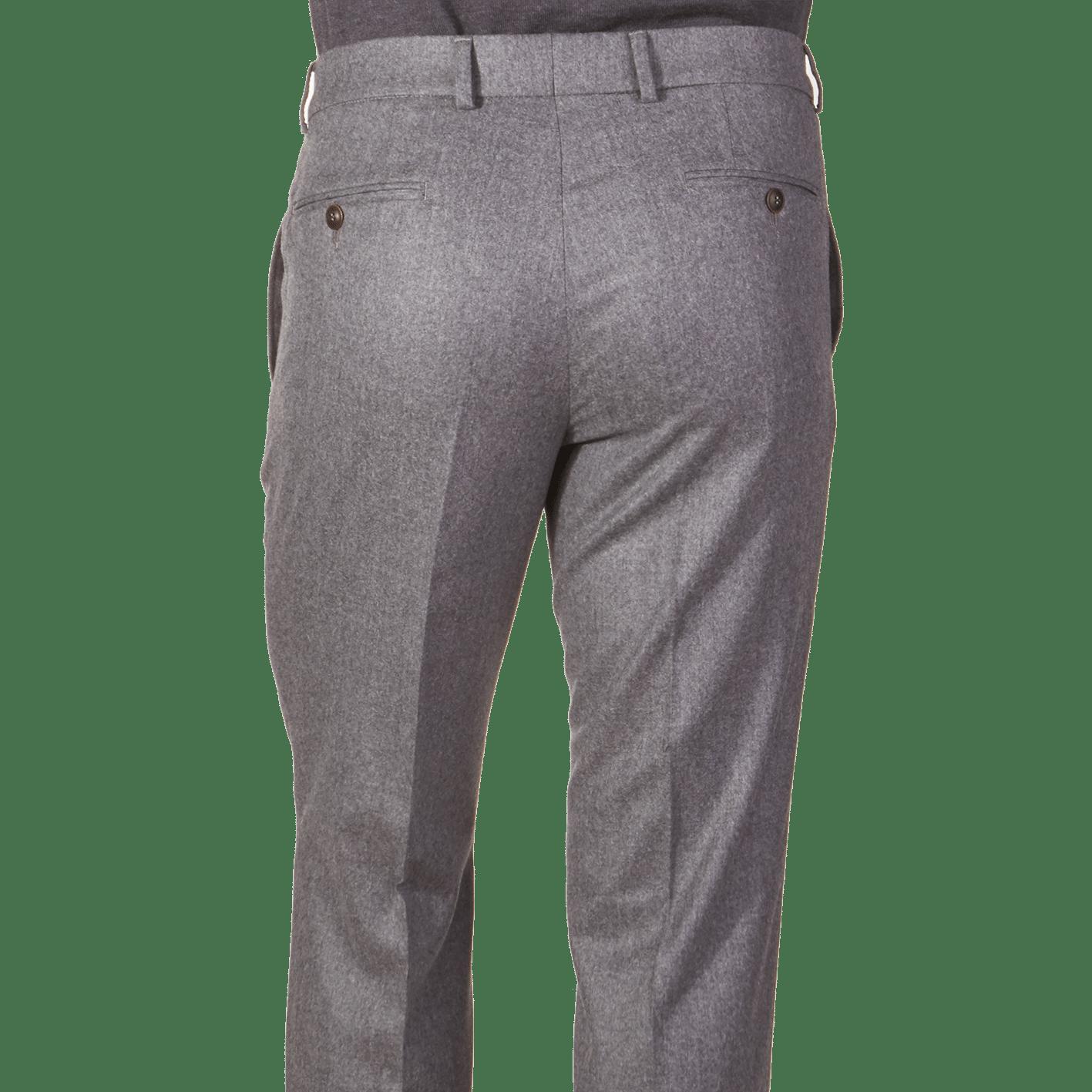 Light Grey Flannel Bogota Trouser