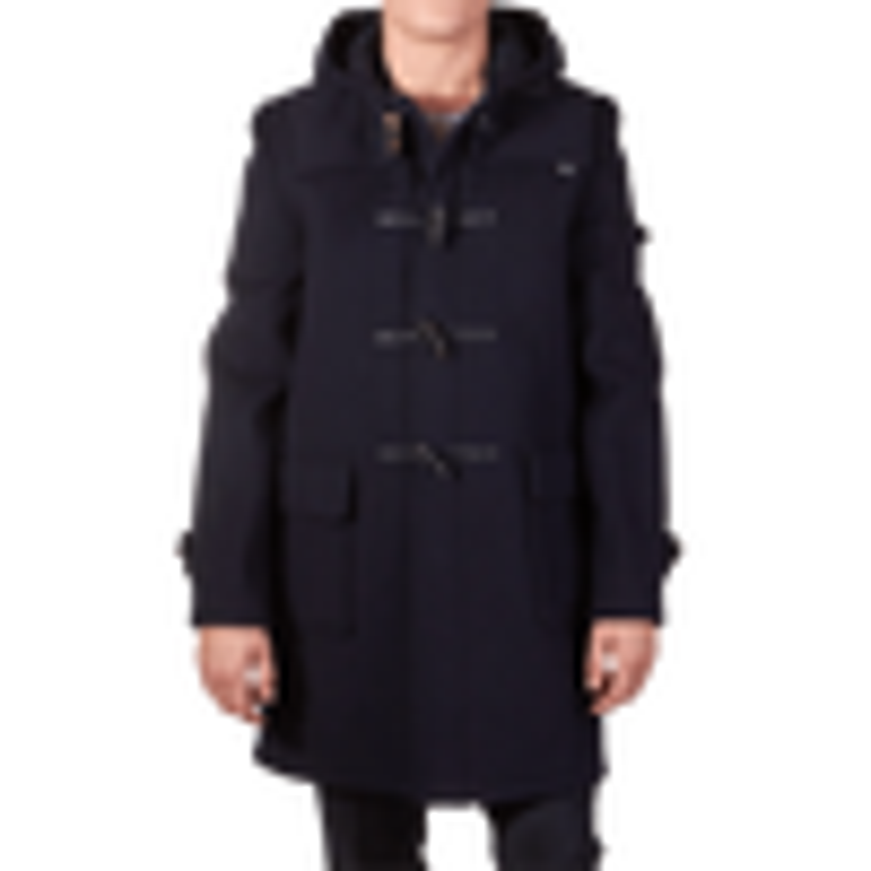 Navy Blue Classic Duffle Coat