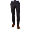 Tagliatore Dark Navy Suit Trouser Flat Front Front