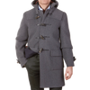 Gloverall-Classic-Wool-Duffle-Coat-Grey-Front