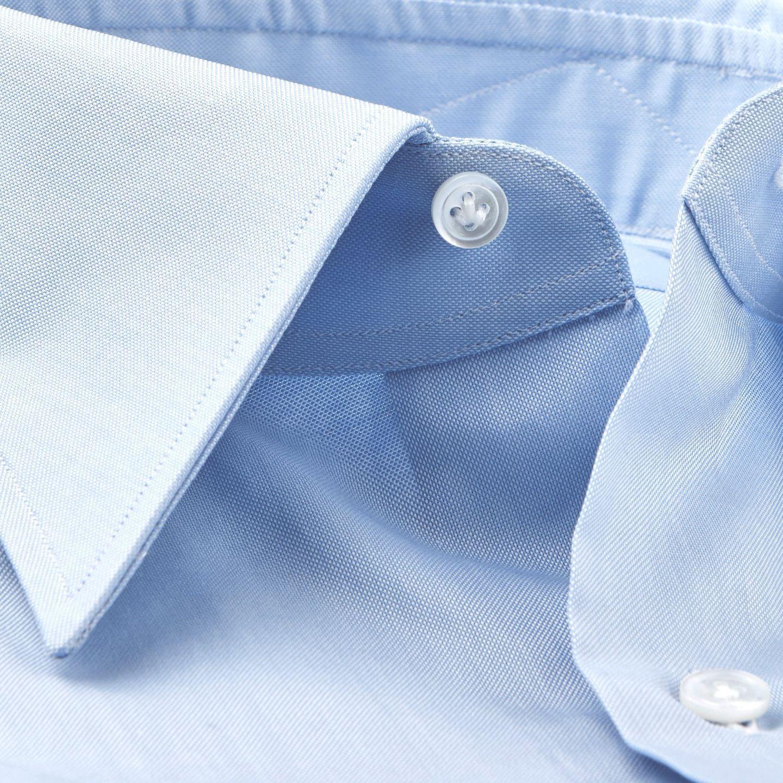 Blue Point Collar Slim Shirt Collar