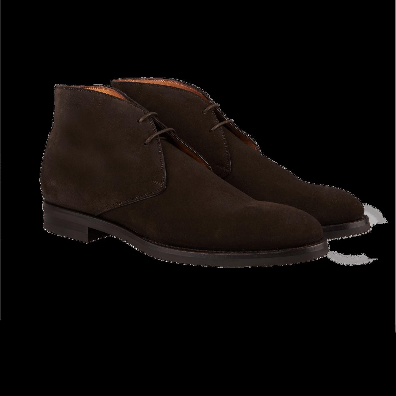 Ortigni Dark Brown Suede Chukka Boots Baltzar