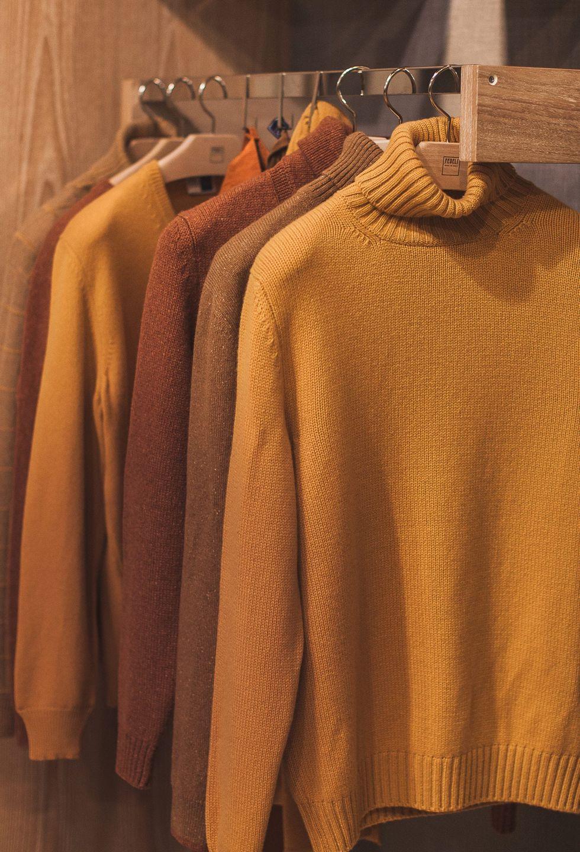 Earthy knitwear from Fedeli at Pitti Uomo 93