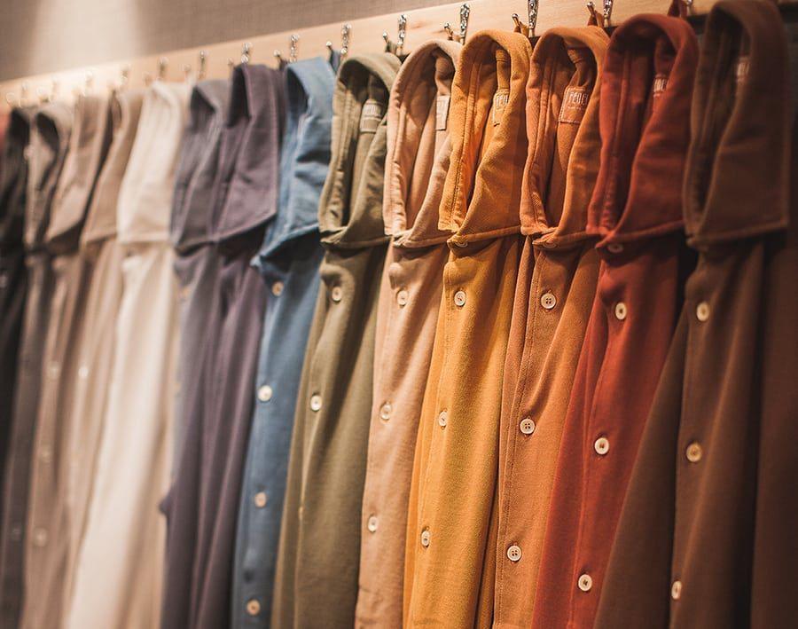 Fedeli Shirts in earthy tones at Pitti Uomo 93i