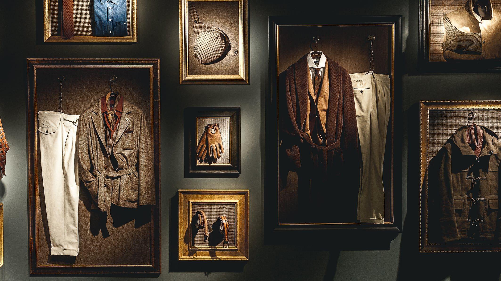 Lardini Showroom at Pitti Uomo 93