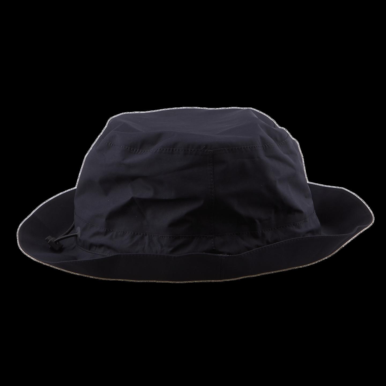Herno Navy Laminar Coat Hat