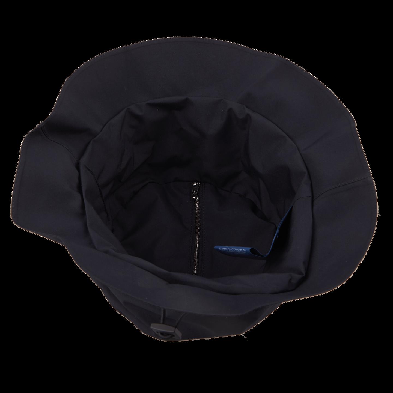 Herno Navy Laminar Coat Inside Hat