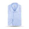 Stenströms Light Blue Houndstooth Regular Fit Shirt Feature