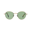 The Bespoke Dudes Eyewear Vicuna Brass Metal With Bottle Green Lenses Feature