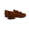 Carmina Brown Polo Suede Forest Tassel Loafers Back
