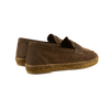Castañer Brown Suede Nacho Casual Loafers Back