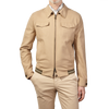 Sealup Beige Cotton Blouson Front