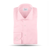 Stenströms Light Pink Cotton Cut-Away Slimline Shirt Fabric