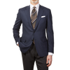 Canali Navy Wool Impeccabile Travel Blazer Front