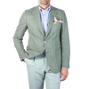 Morris Heritage Green Structured Cotton Blazer Front