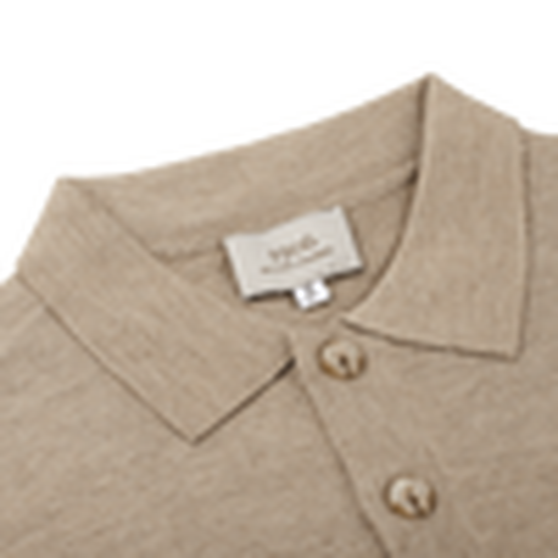 1906 Baltzar Brown Short Sleeve Polo Collar