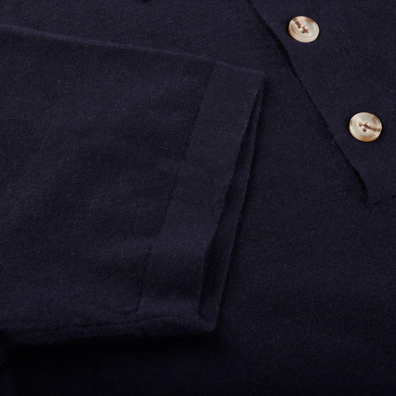 1906 Baltzar Navy Short Sleeve Polo Sleeve