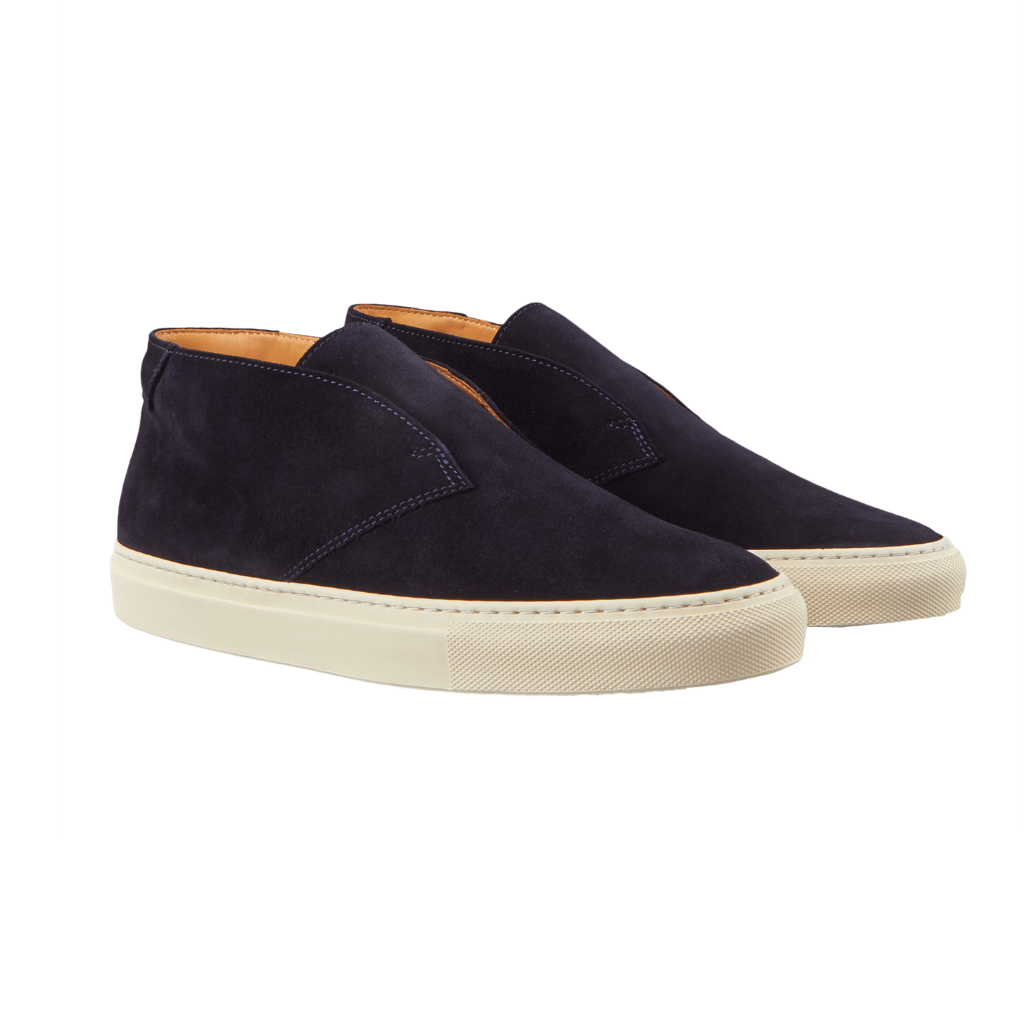 CQP Blue Portico Quarter Top Slip-On Front