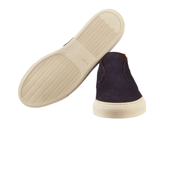 CQP Blue Portico Quarter Top Slip-On Sole