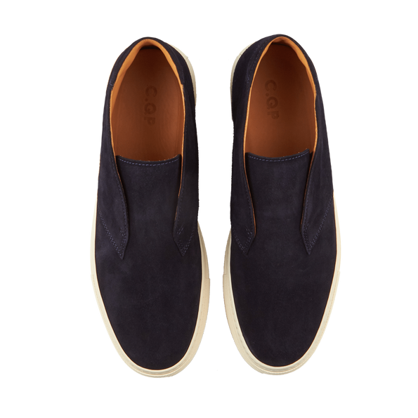 CQP Blue Portico Quarter Top Slip-On Top